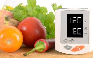 Какие продукты понижают артериальное давление?
