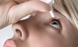 применение капель от глазного давления