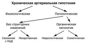 Хроническая гипотония