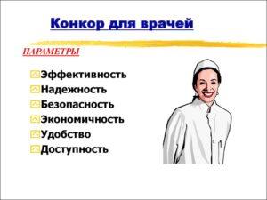 Конкор для врачей