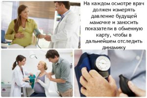 Динамика давления при беременности