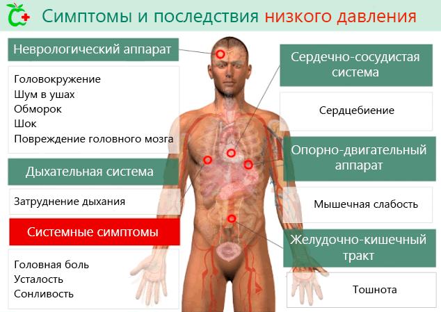 Низкое нижнее артериальное давление. Причины и лечение.