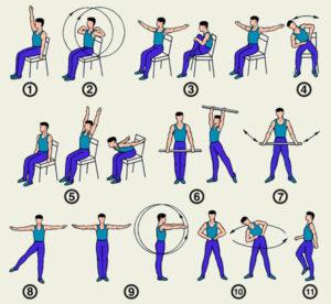 Виды упражнений ЛФК при гипертонии