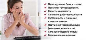 Симптомы скачков давления