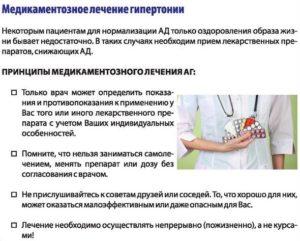 Медикаментозное лечение гипертонии